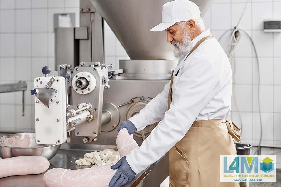 laboratoire de transformation de viande