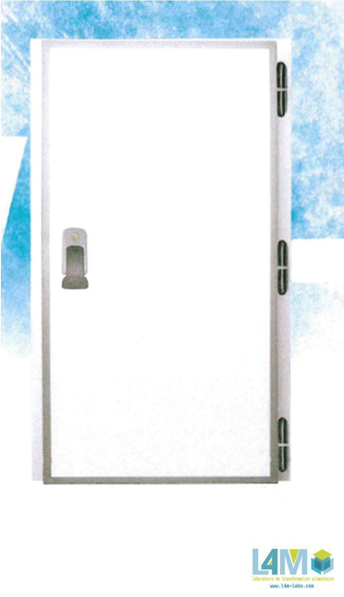 Porte de chambre froide